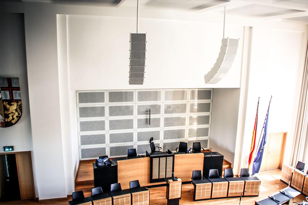 Beschallung Landtag des Saarlandes
