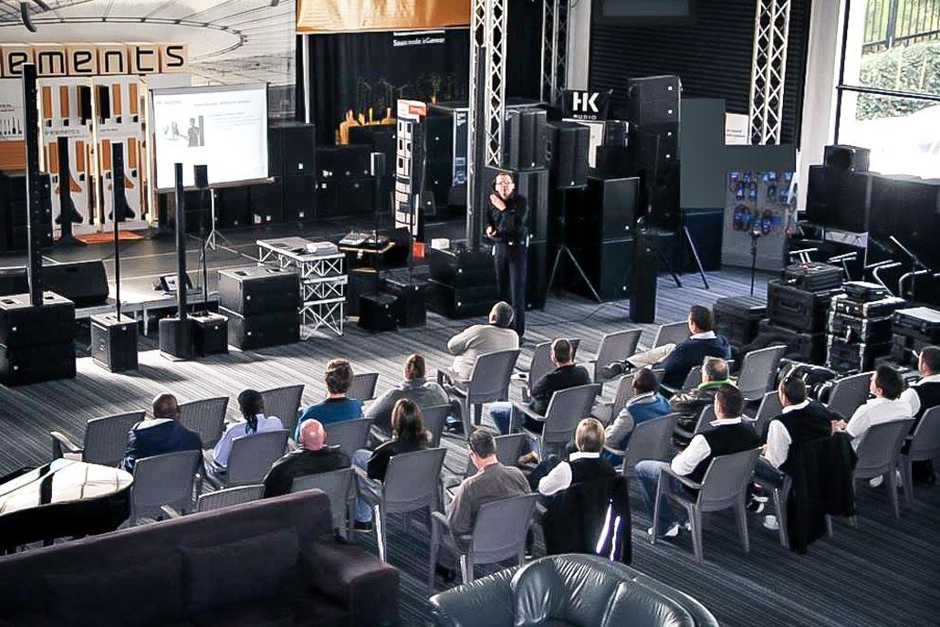 Audio-Präsentation in Süd Afrika